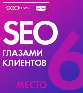 """Рейтинг """"SEO глазами клиентов"""" (SEOnews) — 6 место"""