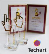 У «Текарт» две высших награды на конкурсе сайтов «Рейтинг Рунета»!
