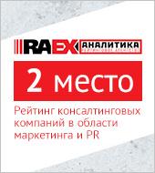 «Текарт» на 2 месте в рейтинге консалтинговых компаний, работающих в области маркетинга (RAEX)