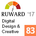 Рейтинг «Digital Design & Creative 2017» (Ruward) — 83 место