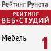"""Рейтинг веб-студий (""""Рейтинг Рунета"""") / Мебель - 1 место"""