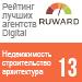 Рейтинг лучших Digital агентств 2017 (Ruward) / Недвижимость, строительство - 13