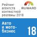 Рейтинг агентств контекстной рекламы (Ruward) / Авто и мото-бизнес — 18 место