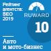Рейтинг SEO-компаний (Ruward) / Авто и мото-бизнес — 10 место