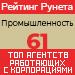 Рейтинг агентств, работающих с корпорациями (Рейтинг Рунета) / Промышленность — 61 место